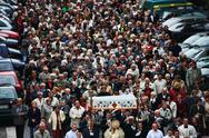 Stock Photo of Religious procession in Wroclaw, Poland /2008/