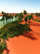 Stock Illustration of oasis