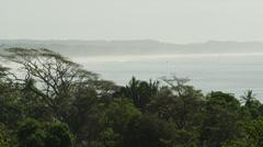 Costa Rica, View of Esterillos Beach Stock Footage