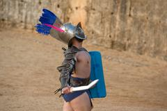 thracian cheer the public up - stock photo