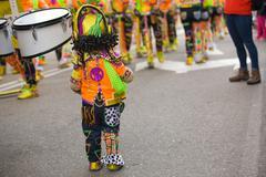 Very little performer Stock Photos