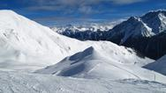 Stock Photo of mountains in winter