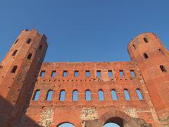 Torri Palatine, Turin Stock Photos