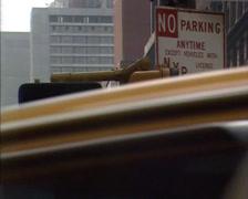 NEW YORK 1980s: pedestrian light walk dont walk Stock Footage