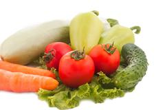 Some vegetables Stock Photos