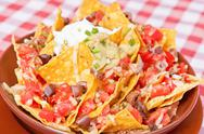 Stock Photo of Vegan nachos