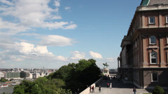 BUDA CASTLE LONGSHOT 04 Stock Footage