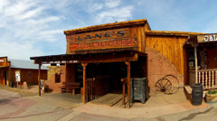 Old West General Store- Calico Ghost Town Regional Park Stock Footage