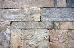 Wall of marble blocks Stock Photos