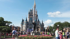 Cinderella's Castle 3 Stock Footage