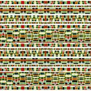 Aztec style pattern Stock Illustration