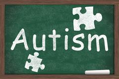 learning about autism - stock illustration
