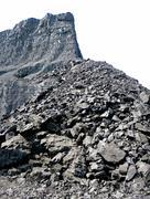 Coal mine isolated - stock photo