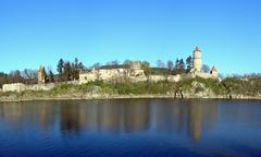 Ancient castle and a river Kuvituskuvat