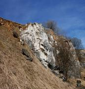 Old quarry - stock photo