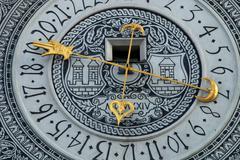Ancient zodiac - stock photo