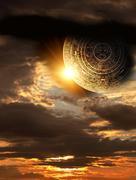 Maya prophecy Stock Photos