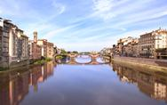 Stock Illustration of River Arno, Florence