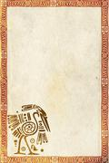American Indian traditional patterns - stock illustration