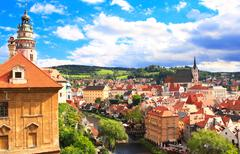 Stock Photo of Cesky Krumlov, Czech