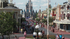 Disney World Main Street 7 Arkistovideo
