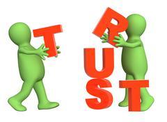 Trust - stock illustration
