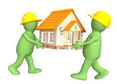 Stock Illustration of New house