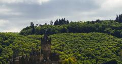 4k, Timelapse, Cochem Castle, Mosel Area, Germany Stock Footage