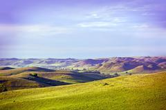 eastern montana landscape. montana, usa. - stock photo
