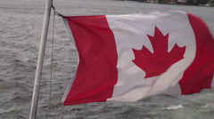 Canadian Flag, Canada Stock Footage