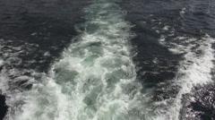 Ocean Waves, Shorelines, Crests, Tides, Sea - stock footage