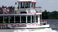 Stock Video Footage of Tourist Boats, Tourism, Sightseeing, Trips