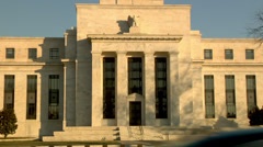 Stock Video Footage of Federal Reserve Building