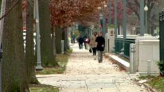 Washington DC Autumn Stock Footage