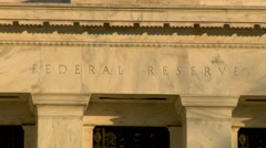 Federal Reserve Building Stock Footage