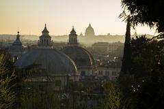 Roman domes Stock Photos
