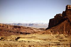 raw utah rocky landscape. utah state - united states of america. utahs photo - stock photo