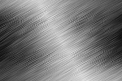 Shiny metal background. metallic material linear polished. Stock Illustration