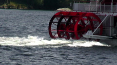 Paddle Steamers, Paddle Boats, River Boats Stock Footage