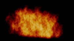 Roaring Fire - stock footage