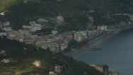 Stock Video Footage of T/L WS HA View of Amalfi Coast / Italy