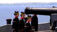 Stock Video Footage of Cannons, Artillery, Weapons, Colonial