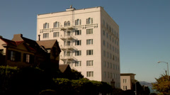 San Francisco Apartment Building Stock Footage
