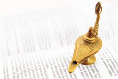 Magic lamp Stock Photos