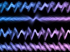 Stock Illustration of Abstract Sound Analyzer