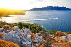 Greek islands - stock photo