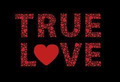 True love Stock Illustration