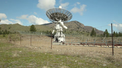Dominion Radio Astrophysical Observatory, Camera Move Stock Footage
