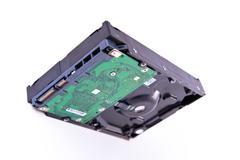 Serial ATA hard drive isolated Stock Photos