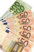 Cheap-money-euro-european currency Stock Photos